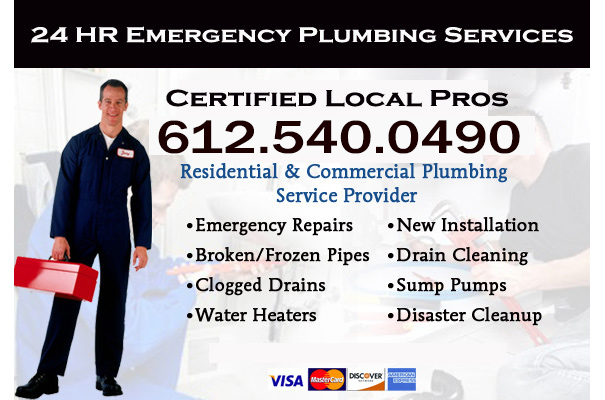 Anoka County emergency plumbers